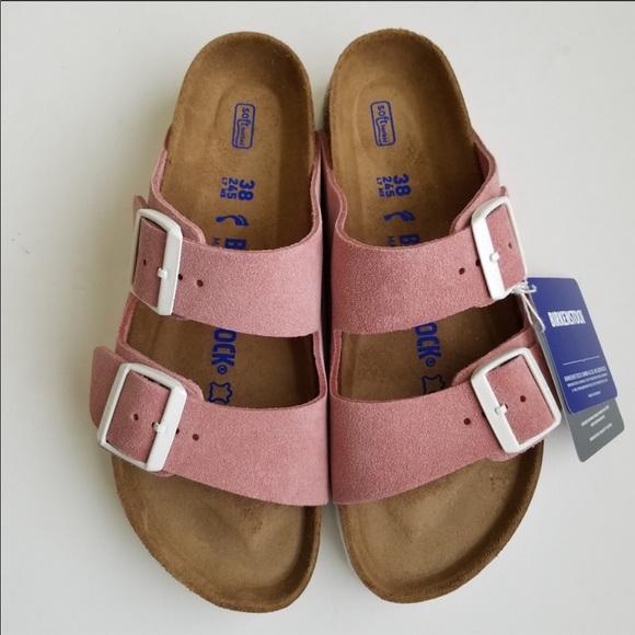 5be5d968011ba Birkenstock Arizona Rose Sandals NWT